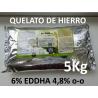Quelato de hierro 6% EDDHA 4,8% o-o en 5Kg