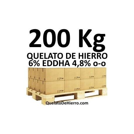Palé 200Kg Quelato de Hierro 6% EDDHA 4,8 o-o