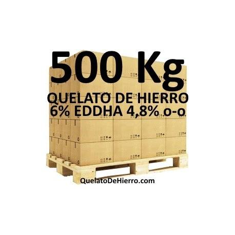 Palé 500Kg Quelato de Hierro 6% EDDHA 4,8 o-o