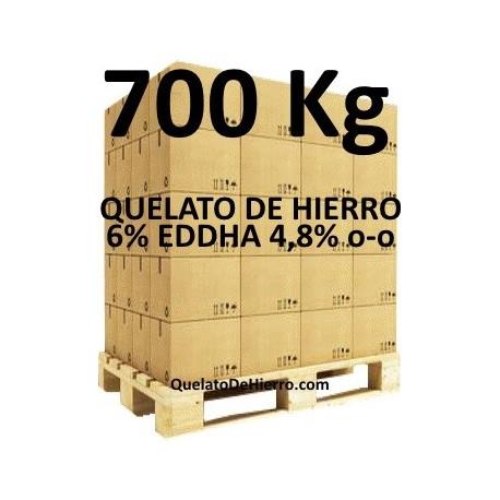 Palé 700Kg Quelato de Hierro 6% EDDHA 4,8 o-o