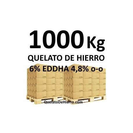 1000Kg Quelato de Hierro 6% EDDHA 4,8 o-o