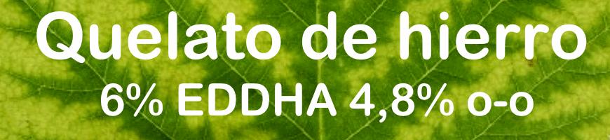 Quelato de hierro 6% EDDHA, 4,8% o-o