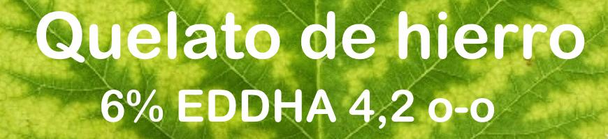 Quelato de hierro 6% EDDHA, 4,2% o-o